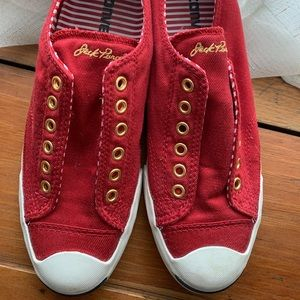 Converse Jack Purcell, red keds